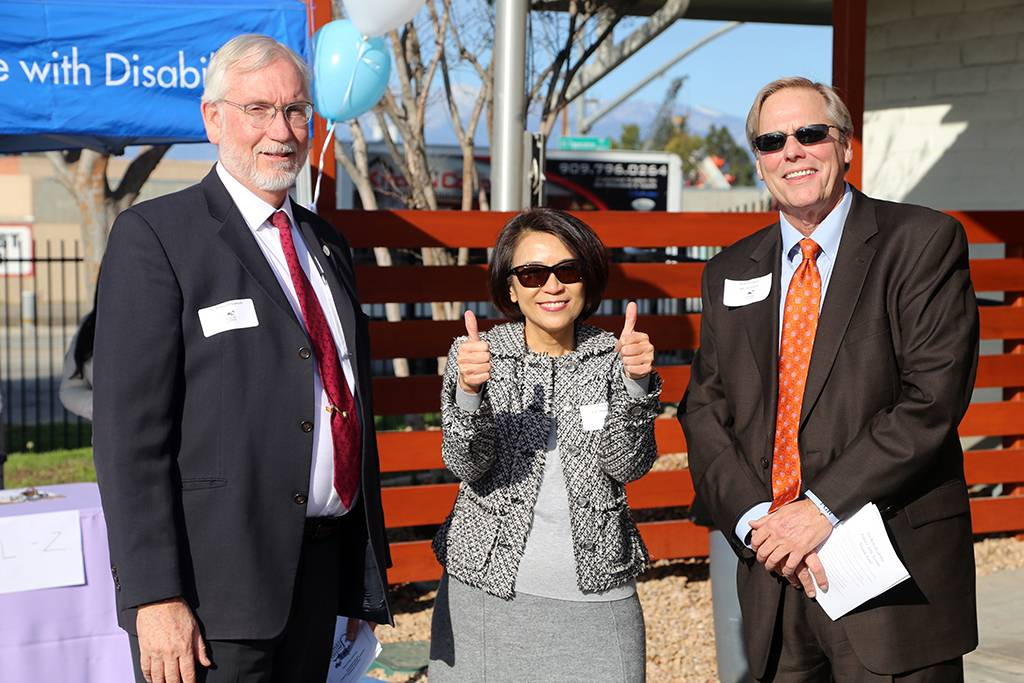 Richard Chinnock, Linda Wu, and Peter Hubbard.