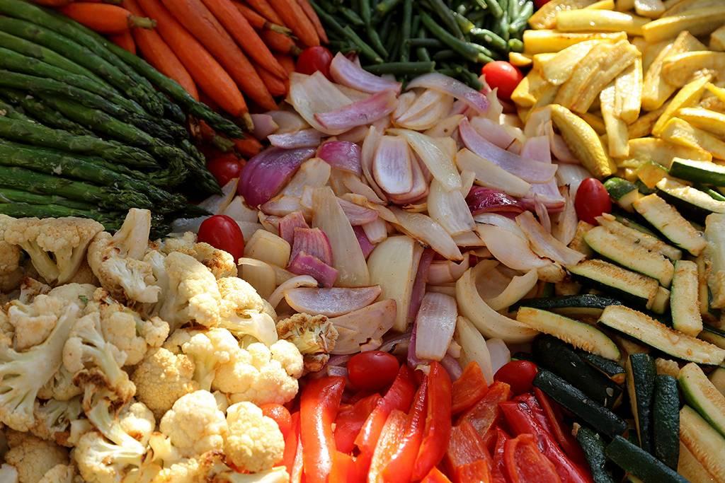 Braised veggies