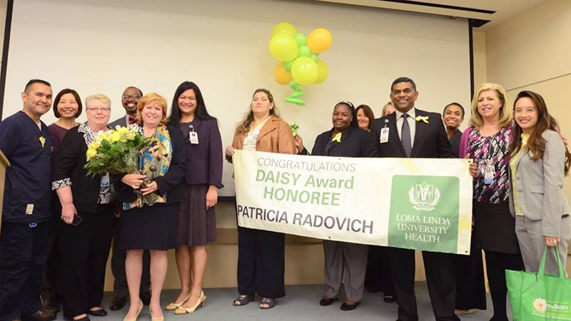 DAISY Award winner Patricia Radovich