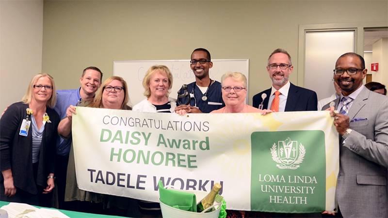 DAISY Award winner Tad Worku