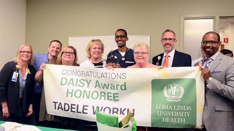 DAISY Award winner Tad Worku