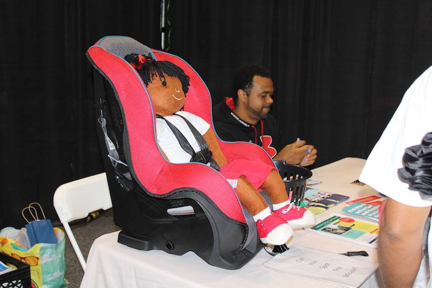Safe Kids Inland Empire offered car seat safety tips to parents and caregivers.