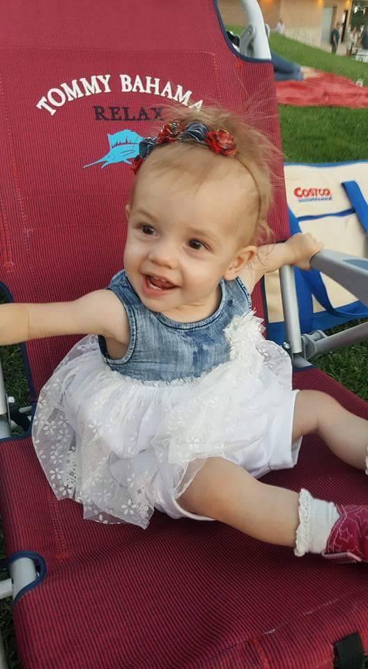 little Vivian at the fair