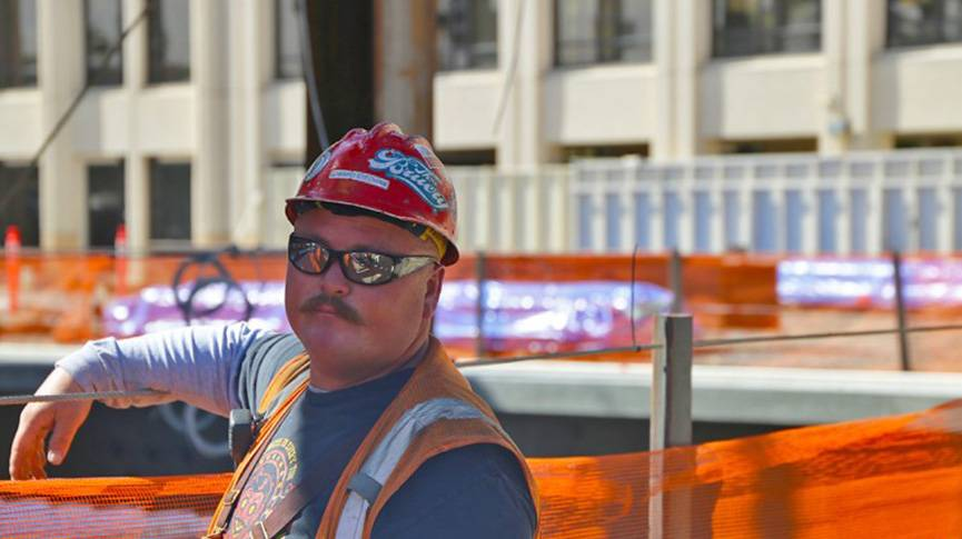 Eddie is a plumb up foreman working on the new Loma Linda University Medical Center.