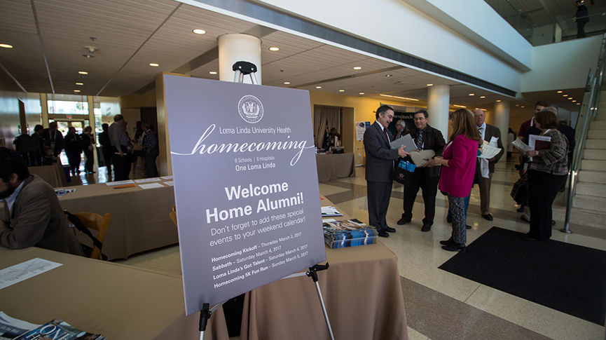 One Homecoming, which will be held on the campus of Loma Linda University Health March 1 through 5, is a great opportunity to reconnect with classmates and friends.