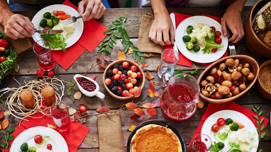 healthy vegetarian thanksgiving meal