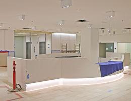 Future hospital main lobby