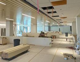 New hospital cafeteria