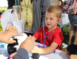 Annual Children's Day teaches kids about medicine and health care in a fun, safe environment