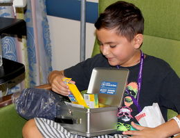 Blankets and craft kits donated to patients at LLUCH clinic