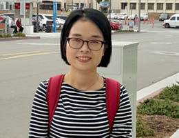 Nancy Wu came from China to study Child Life at the School of Behavioral Health