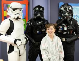 Loma Linda University Children's Hospital patients treated to afternoon of fun