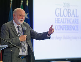 Richard Hart at Global Healthcare Conference