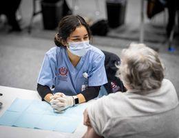 LLU students vaccinate community