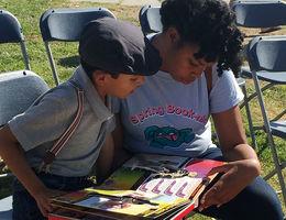 Spring Booknic brings kids, Loma Linda University students together