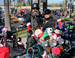 Bikers deliver thousands of toys to Loma Linda University Children's Hospital