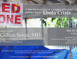 The Red Zone: A firsthand account of a surgeon who risked all during Liberia's Ebola crisis.