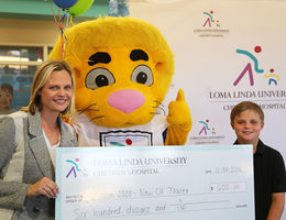 Ten-year-old philanthropist donates $600 to Loma Linda University Children's Hospital