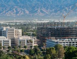 Height of new hospital tower construction tops height of existing Medical Center