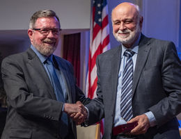 Weniger Society honors Loma Linda University Health president