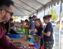 Photo Gallery: Loma Linda University Health Beaumont-Banning Thanksgiving Food Drive