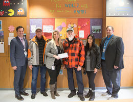 Quaid Harley-Davidson donates more than $7,000 to Loma Linda University Children's Hospital