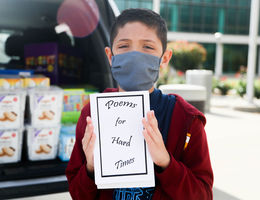 9-year-old raises money for first responders through book of poem sales