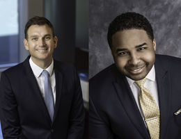 side by side headshots of administrators