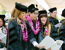 School of Pharmacy's graduates encouraged to find value in life beyond work