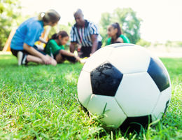 child injured while playing soccer