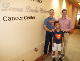 A kindergartener and cancer specialist help principal beat rare cancer
