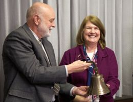 Peace Corps gift rings out loud and clear at School of Public Health