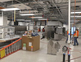 Future hospital's two kitchens will serve patients dietary needs