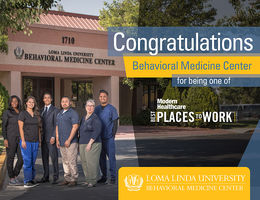 National healthcare industry publication names Behavioral Medicine Center as a top workplace