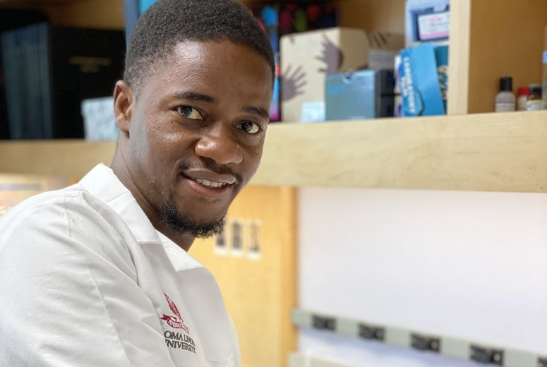Lennox Chitsike, School of Medicine student and first author