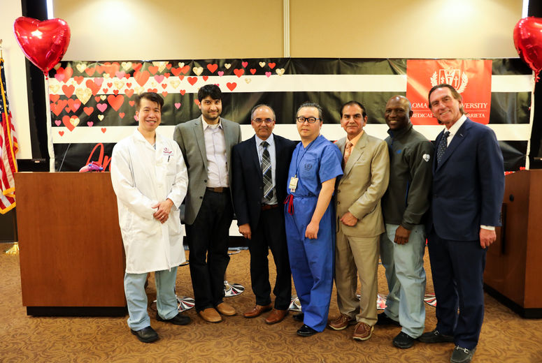 group photo of physicians