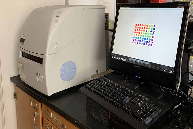 Device (AlphaScreen) used for the research's bead-based screening