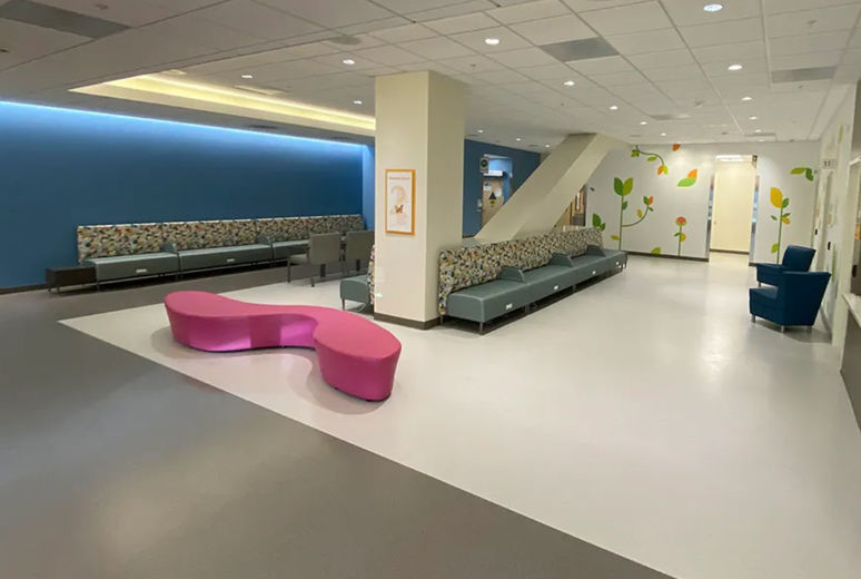 Furniture in new medical center