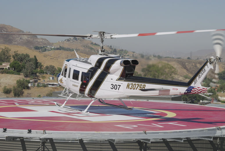 Training flights begin for air rescue providers