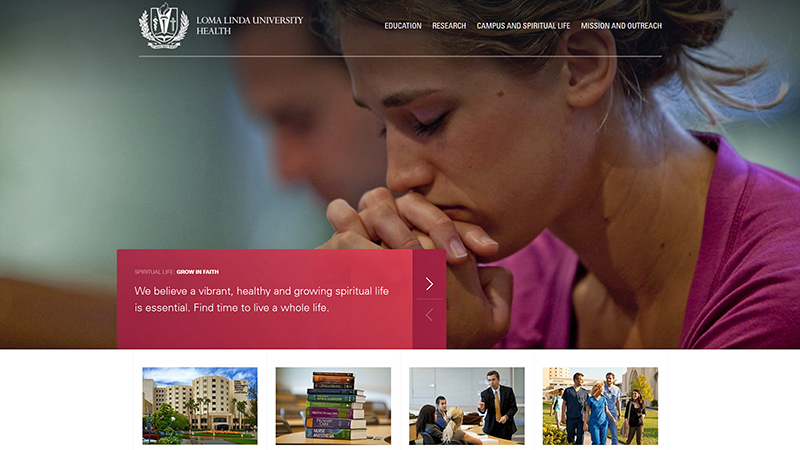 University website goes live with redesign